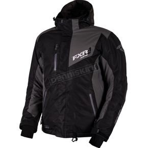 FXR Racing Black/Charcoal Recoil Jacket - 16007.10222
