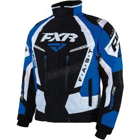 FXR Racing Black/Royal Blue/White Team FX Jacket - 16010.40125