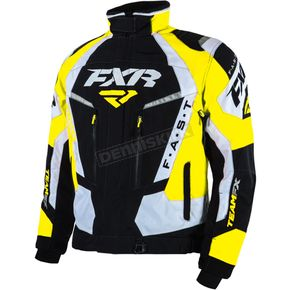 FXR Racing Black/Yellow Team FX Jacket - 16010.60107