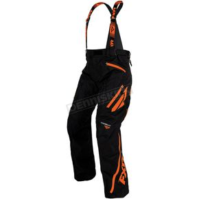 FXR Racing Black/Orange Mission X Pants - 16105.30122