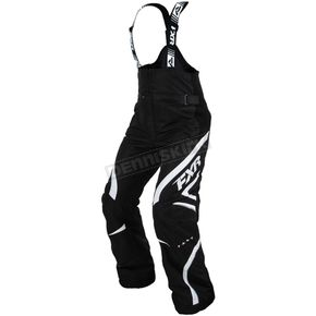 FXR Racing Womens Black/White Team Pants - 15252.10112