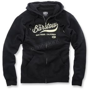100% Black Barstow Zip Up Fleece - 36013-001-14