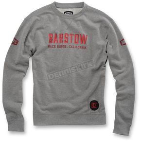 100% Heather Gray Brymann Pullover Crewneck  - 36014-007-14