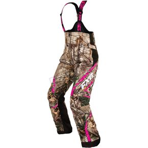 FXR Racing Women's Realtree Xtra/AP Fuchsia Team Pants - 16252.33318
