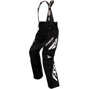 FXR Racing Women's Black/White X-System Pants - 16251.10014