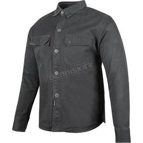 Speed and Strength Black Last Man Standing Armored Moto Shirt - 87-0156