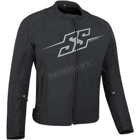 Speed and Strength Black Hammer Down Textile Jacket - 87-0645