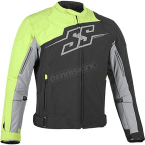Speed and Strength Hi Vis Hammer Down Textile Jacket - 87-0661