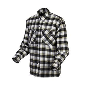 Scorpion Black/Yellow Covert Flannel Shirt - 13103-4