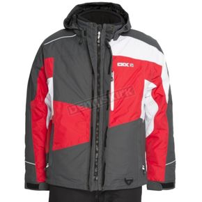 CKX Charcoal/Red Squamish Jacket - 620357