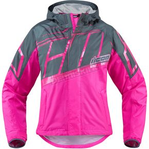 Icon Women's Pink PDX 2 Jacket - 2854-0192