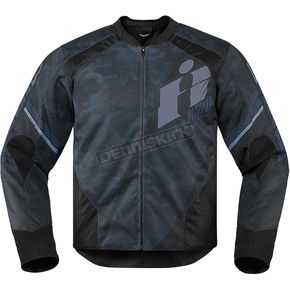 Icon Black Overlord Primary Jacket - 2820-3633