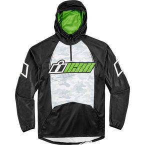 Icon Green Single Stack Hoody - 3050-3486