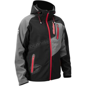 Castle X Black/Red Barrier Tri-Lam Jacket - 70-8418