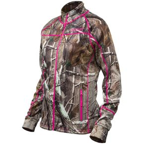 Castle X Women's Realtree AP/Magenta Fusion Mid-Layer Jacket - 78-2094