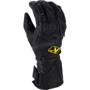 Klim Black Long Adventure Gloves - 5032-001-160-000