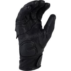 Klim Black Short Adventure Gloves - 5031-001-150-000