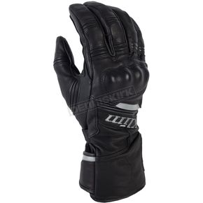 Klim Black Long Quest Gloves - 3377-000-140-000