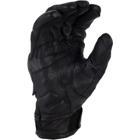 Klim Black Short Quest Gloves - 3347-000-140-000