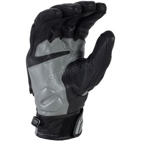 Klim Black/Gray Short Quest Gloves - 3347-000-170-600