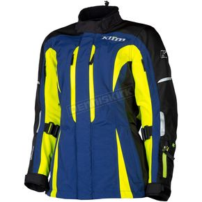 Klim Women's Blue/Black/Hi-Vis Altitude Jacket - 5093-001-130-500