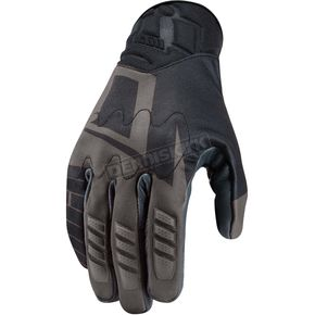 Icon Black Wireform Gloves - 3433791XL