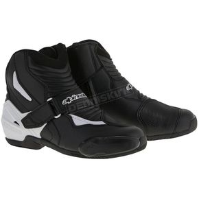 Alpinestars Black/White SMX-1R Boot - 2224516-12-46