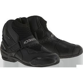 Alpinestars Black Vented SMX-1R Boot - 2224016-10-42