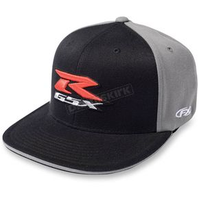Factory Effex Black Suzuki GSXR Flex-Fit Hat - 15-88448