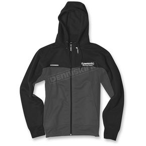 Factory Effex Black/Gray Kawasaki Tracker Jacket - 19-85104