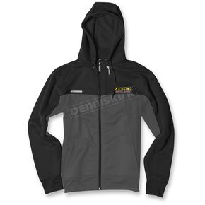 Factory Effex Black/Gray Rockstar Tracker Jacket - 19-85602