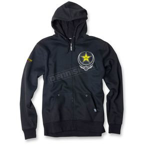 Factory Effex Black Imperial Rockstar Zip-Up Hoody - 17-88624
