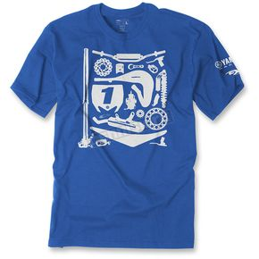 Youth Royal Blue Yamaha Dissection T-Shirt