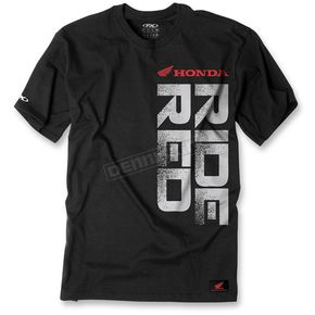 Factory Effex Black/Red Honda Ride Red Vert T-Shirt - 16-88312