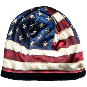 Hot Leathers American Flag Beanie - KHC1009