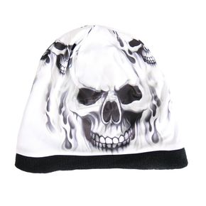 Hot Leathers Ghost Skull Sublimated Beanie - KHC1001