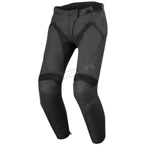 Alpinestars Women's Black Stella Jagg Air Leather Pants - 3132616-1100-42