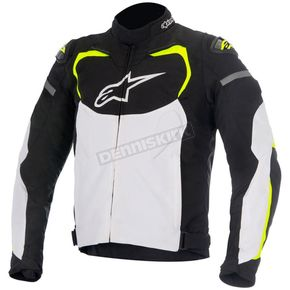 Alpinestars Black/White/Fluorescent Yellow T-GP Pro Textile Jacket - 3305016-125-4XL