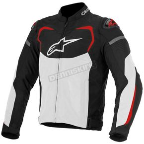Alpinestars Black/White/Red T-GP Pro Air Textile Jacket - 3305116-123-3X