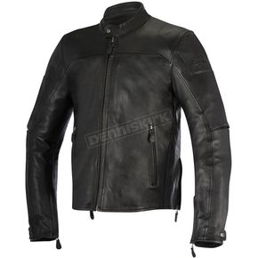 Alpinestars Black Brera Leather Jacket - 3107016-10-52