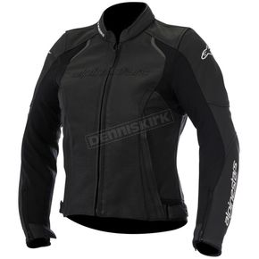 Alpinestars Women's Black Stella Devon Airflow Leather Jacket - 3112116-10-38