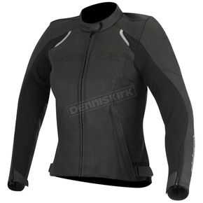 Alpinestars Women's Black Stella Devon Leather Jacket - 3112016-10-46