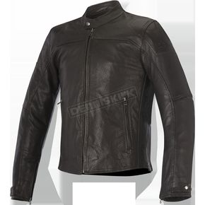 Alpinestars Tobacco Brown Brera Airflow Leather Jacket - 3107116-810-46