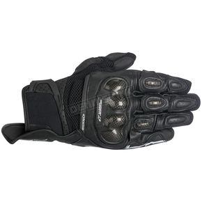 Alpinestars Black SPX Air Carbon Gloves - 3567316-10-3XL