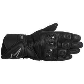 Alpinestars Black/Gray SP Air Leather Glove - 3558016-104-3XL