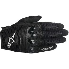 Alpinestars Black SMX-1 Air Glove - 3570516-10-2XL
