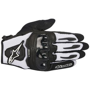 Alpinestars Black/White SMX-1 Air Glove - 3570516-12-3XL