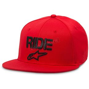 Alpinestars Red Ride Flat Hat - 101681024030SM