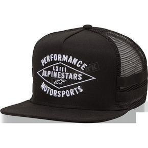 Alpinestars Black Expedition Hat - 10168102810