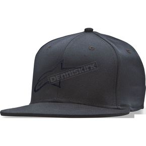 Alpinestars Black Ageless Flat Hat - 1035810151010LX